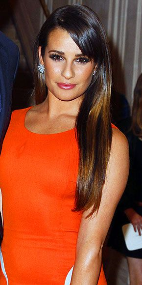 We found an affordable perfect-match pair to Lea Michele's super-pricey earringsBrushes Cleaning, Orange Versace, Lea Michele Hairstyle, Lea Michele'S 3, Haircolor Ideas, Clean Face, Celebrities With Dark Hair, Lea Michele Makeup, Hair Color