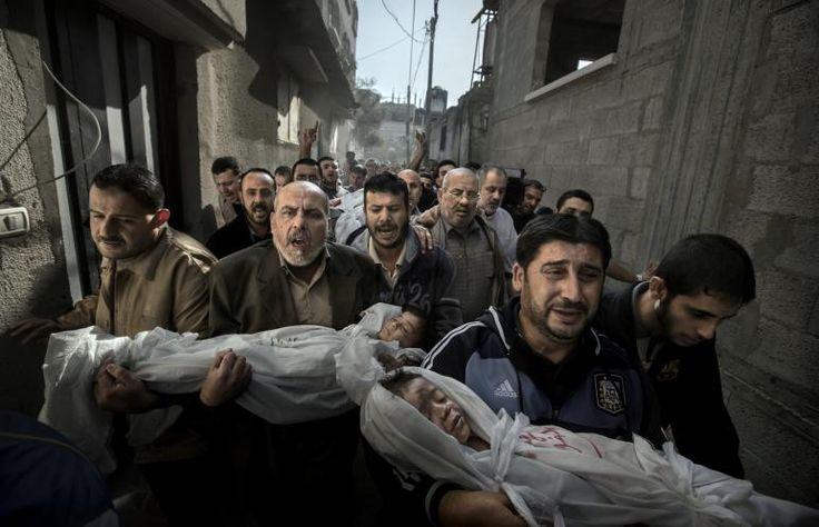 Gaza Burial - Paul Hansen