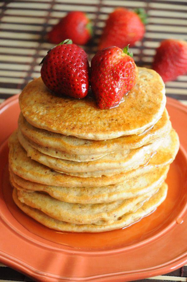 The Best Vegan Pancakes | Vegan Recipes from Cassie Howard