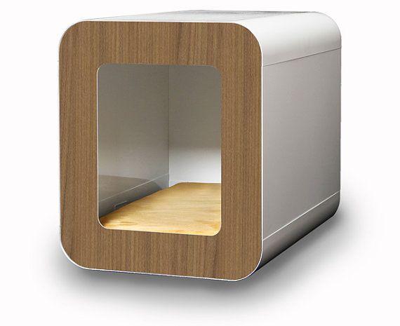 Modern Dog House / Small Size via Etsy