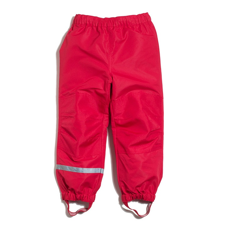 all swedish kids have these type of rain pants so they can play outside no matter what the weather...imagine that...