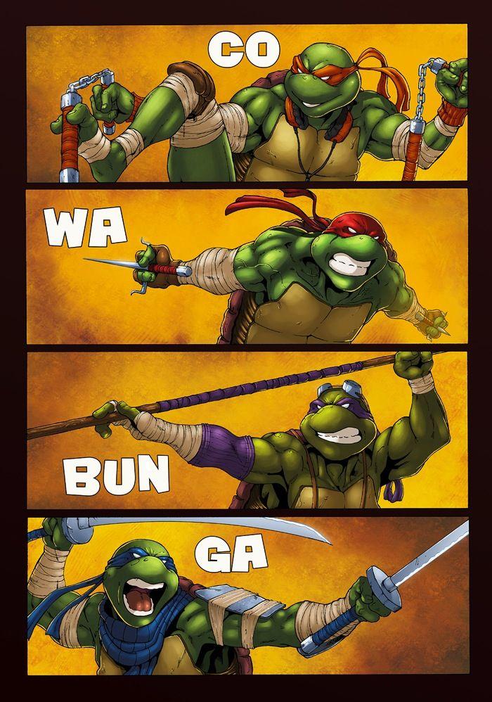 Teenage Mutant Ninja Turtles Art is Awesome