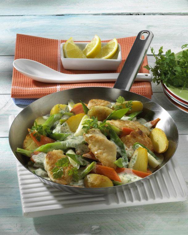 Unser beliebtes Rezept für Fisch-Gemüse-Pfanne und mehr als 55.000 weitere kostenlose Rezepte auf LECKER.de.