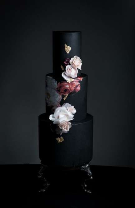 Trendy wedding ideas colors black