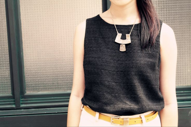 Trove Necklace from Gold x Silver Collection.