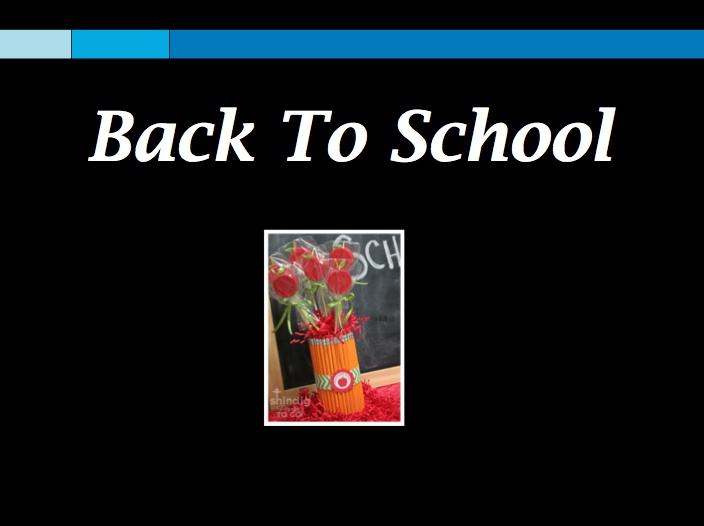 Back to School Season!Back To School