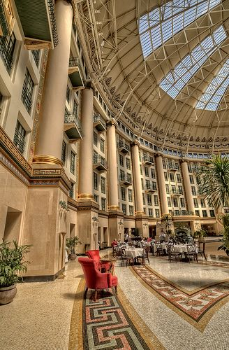 West Baden Springs Hotel Side Shot