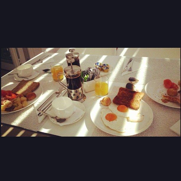 breakfast at  #PatmosAktis #summer2013