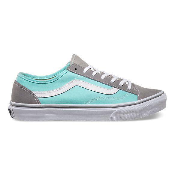 Style 36 Slim Vans Wild Dove/Aqua Splash
