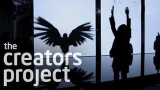 interactive installation art - YouTube
