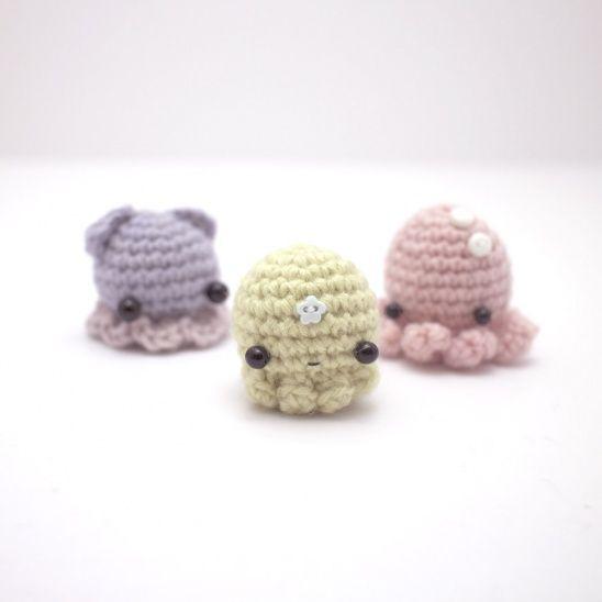 Amigurumi Octopus Mohu : A crochet amigurumi pattern for squids, octopuses and ...