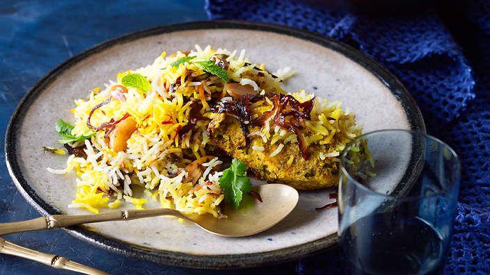 Hyderabadi-style chicken biryani recipe : SBS Food