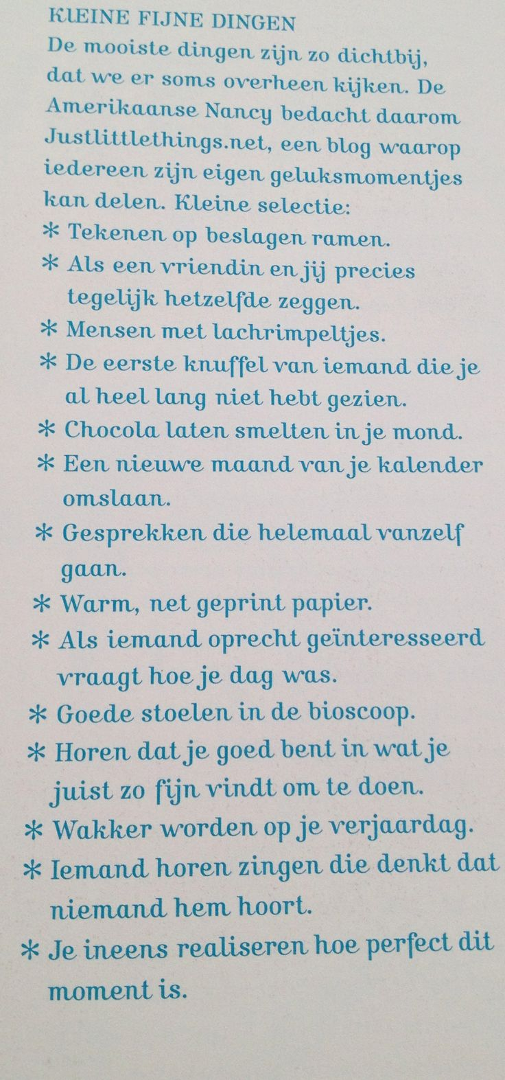 So true...uit Flow Magazine