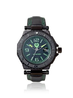 81% OFF Brillier Men's 25-04 Hype Black Stainless Steel Watch