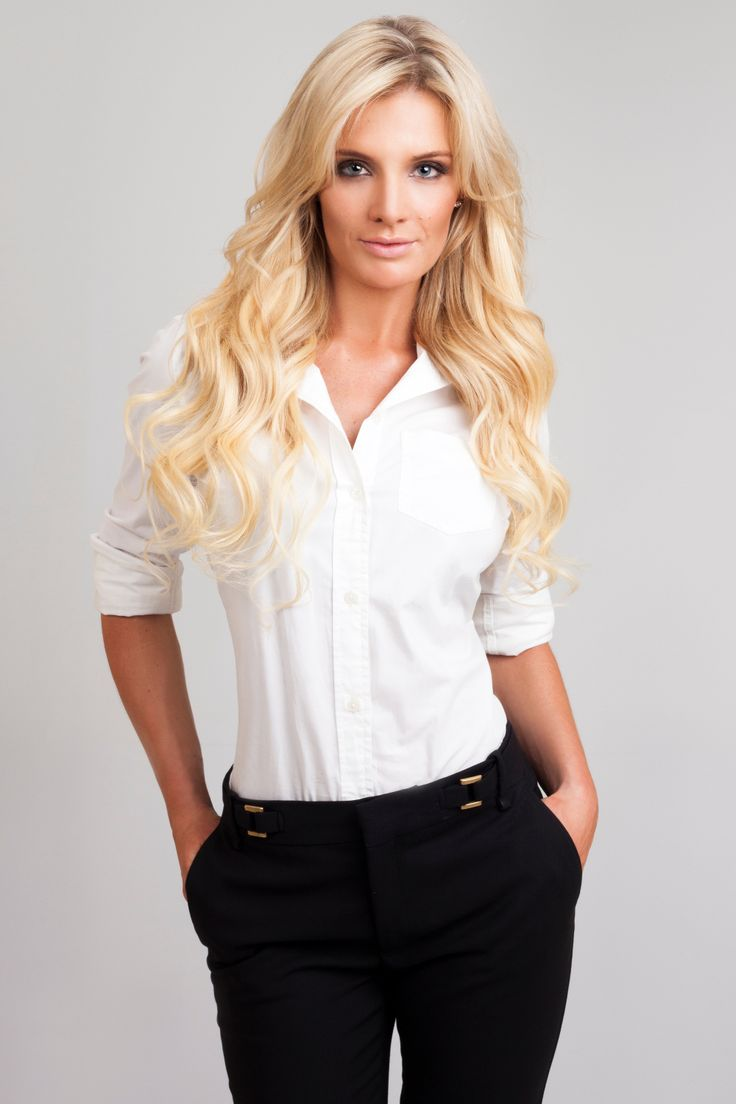 Bleach Blonde Hair Extensions on Model Greer :) Available for purchase at www.frontrow.co.za