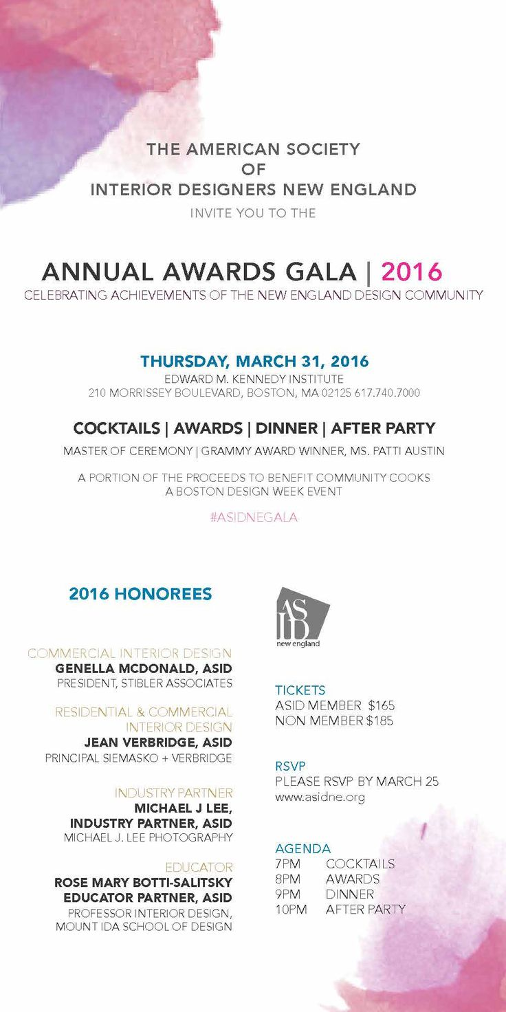 2016 ASID Gala Awards