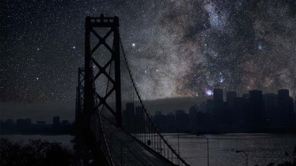 ever wondered what your city would look like without light pollution?