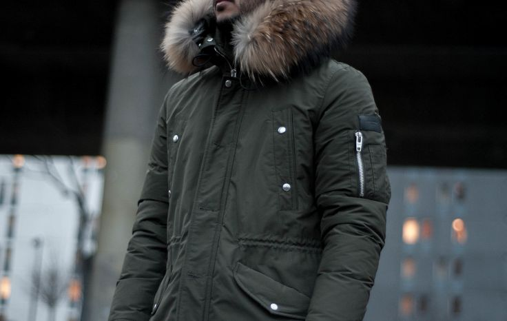 Rock and roll aesthetic parka