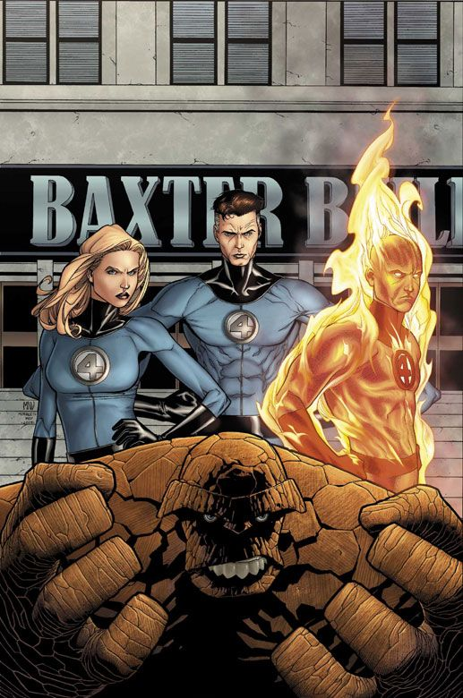Fantastic Four - Steve McNiven