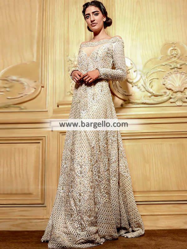 8a1ff2481c Off-White Dahlia Gown Designer Off-White Wedding Gown Faraz Manan Wedding  Dresses Pakistan