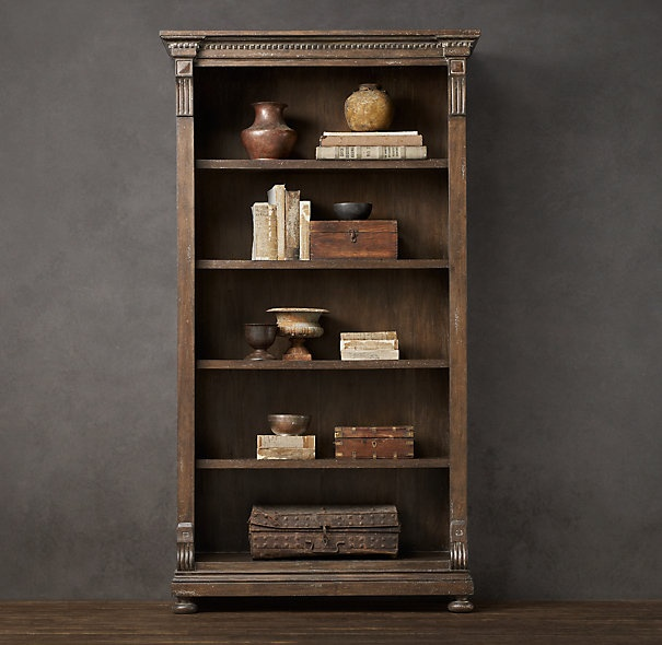 St. James Bookcase Antique Coffee | Shelving & Cabinets | Restoration  Hardware - 14 Best Bookshelf Images On Pinterest