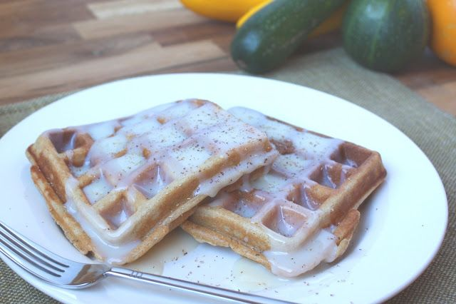 ... In The Kitchen: Brown Sugar and Spice Whole Wheat Zucchini Waffles