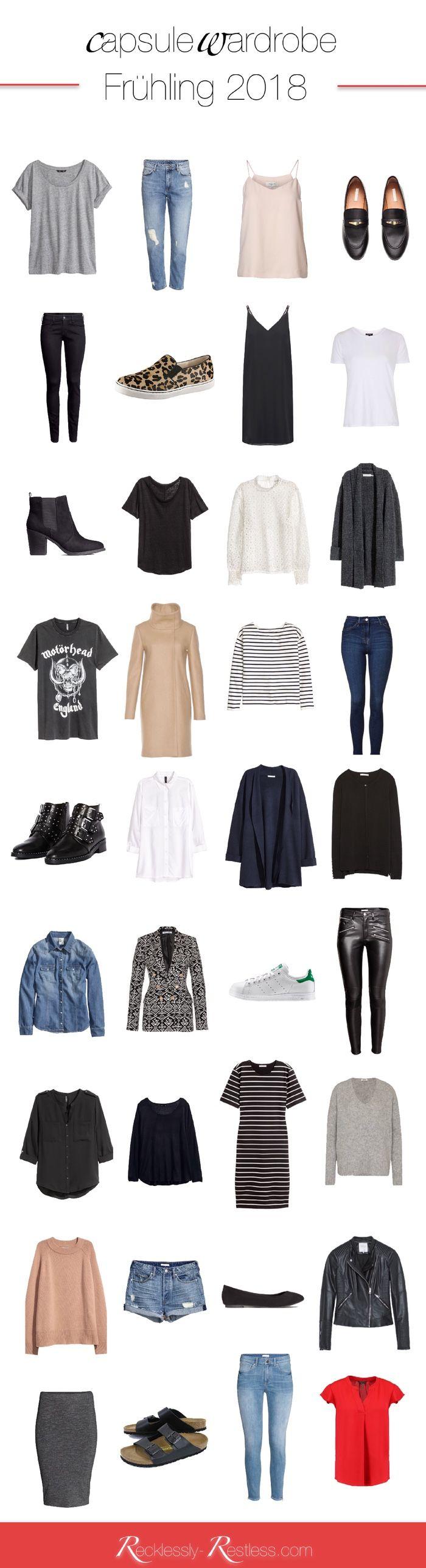 Spring Capsule Wardrobe 2018 – meine Frühlings-Garderobe 2018