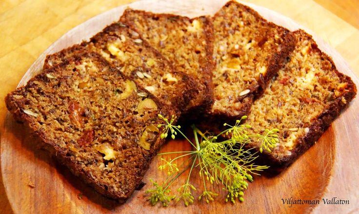 Viljattoman Vallaton: Viljaton herkkuleipä