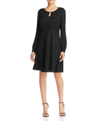 FINITY Front Keyhole A-Line Dress | Bloomingdale's