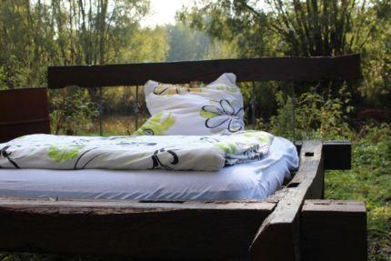 """... zu """"Bett Eiche auf Pinterest  Malm Bett, Eiche und Holzbett"""