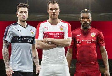VfB Stuttgart 2016/17 PUMA Away and Third Kits