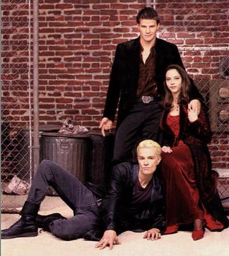 Angel, Spike, and Drusilla