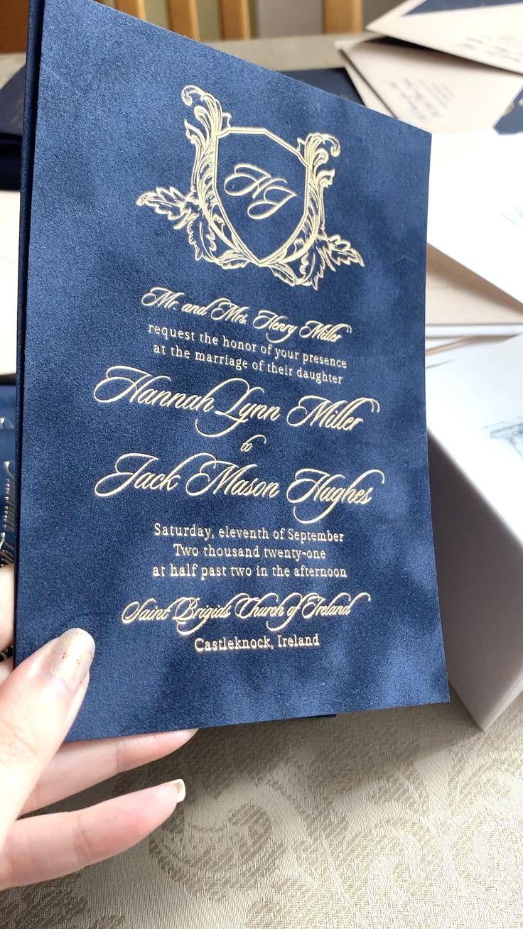 Velvet Invitations Video Velvet Wedding Invitations Velvet Invitation Wedding Invitations