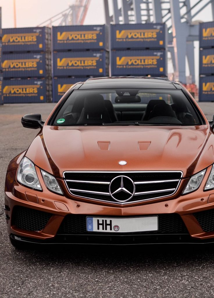 Mercedes E-Class is oh so sexy... That would be HIS