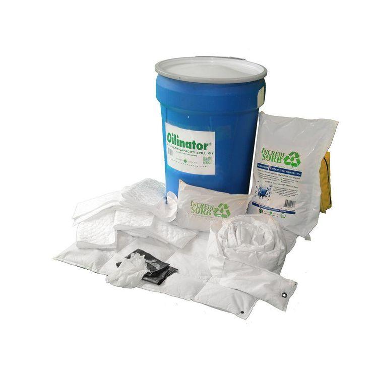 30 Gal. Heavy Duty Oil Absorbent Spill Kit