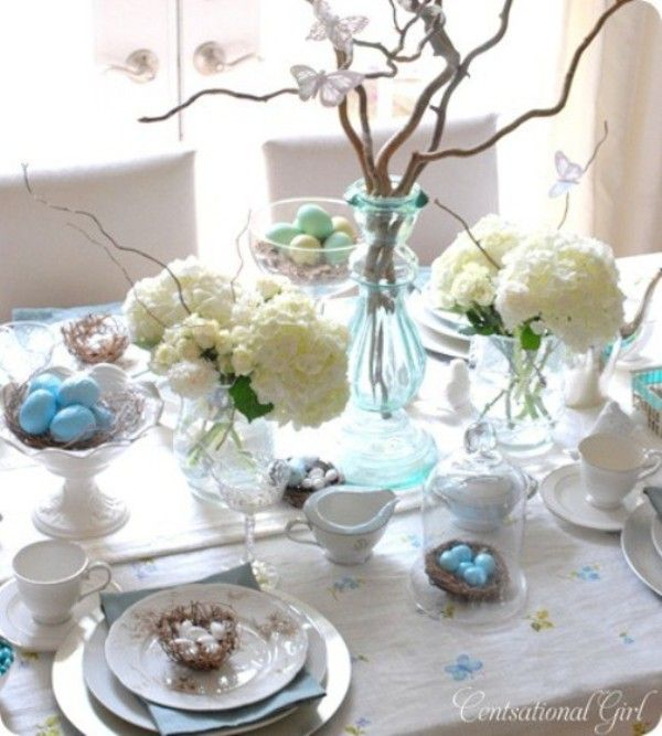 Easter Table Decorating Ideas - Modern Magazin - Art, design, DIY projects, architecture, fashion, food and drinks