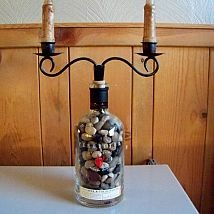 How to repurpose a Pendleton Whiskey Bottle