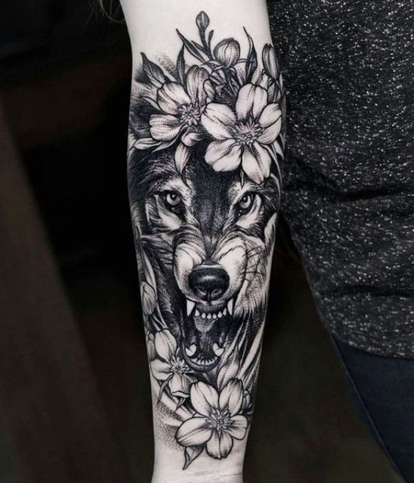 40 Masculine Wolf Tattoo Designs For Men #NeatTattoosIWouldHave