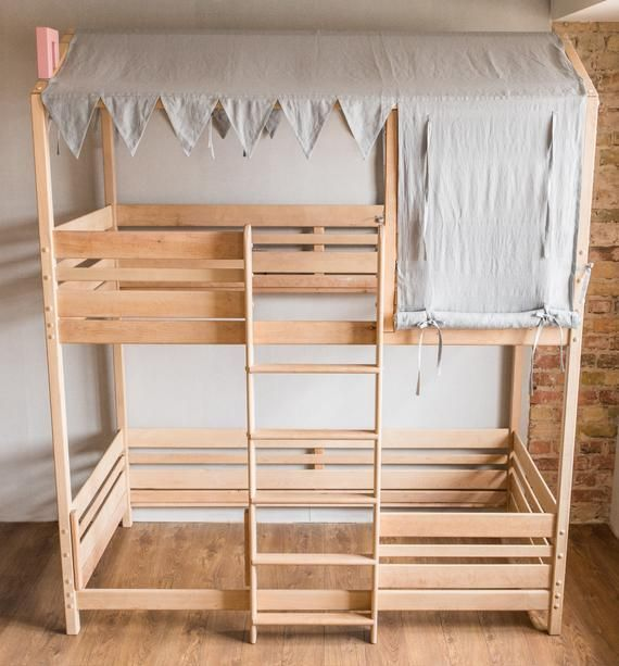 Woodland Letti A Castello.Bunk Bed Bunk Bed For Kids Loft Bed Toddler Bed Kids Beds
