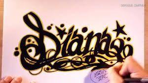 como aprender a dibujar letras en graffiti 1