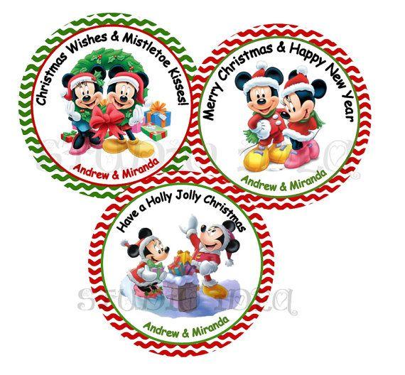 Custom Minnie & Mickey Christmas 2.5 Printable