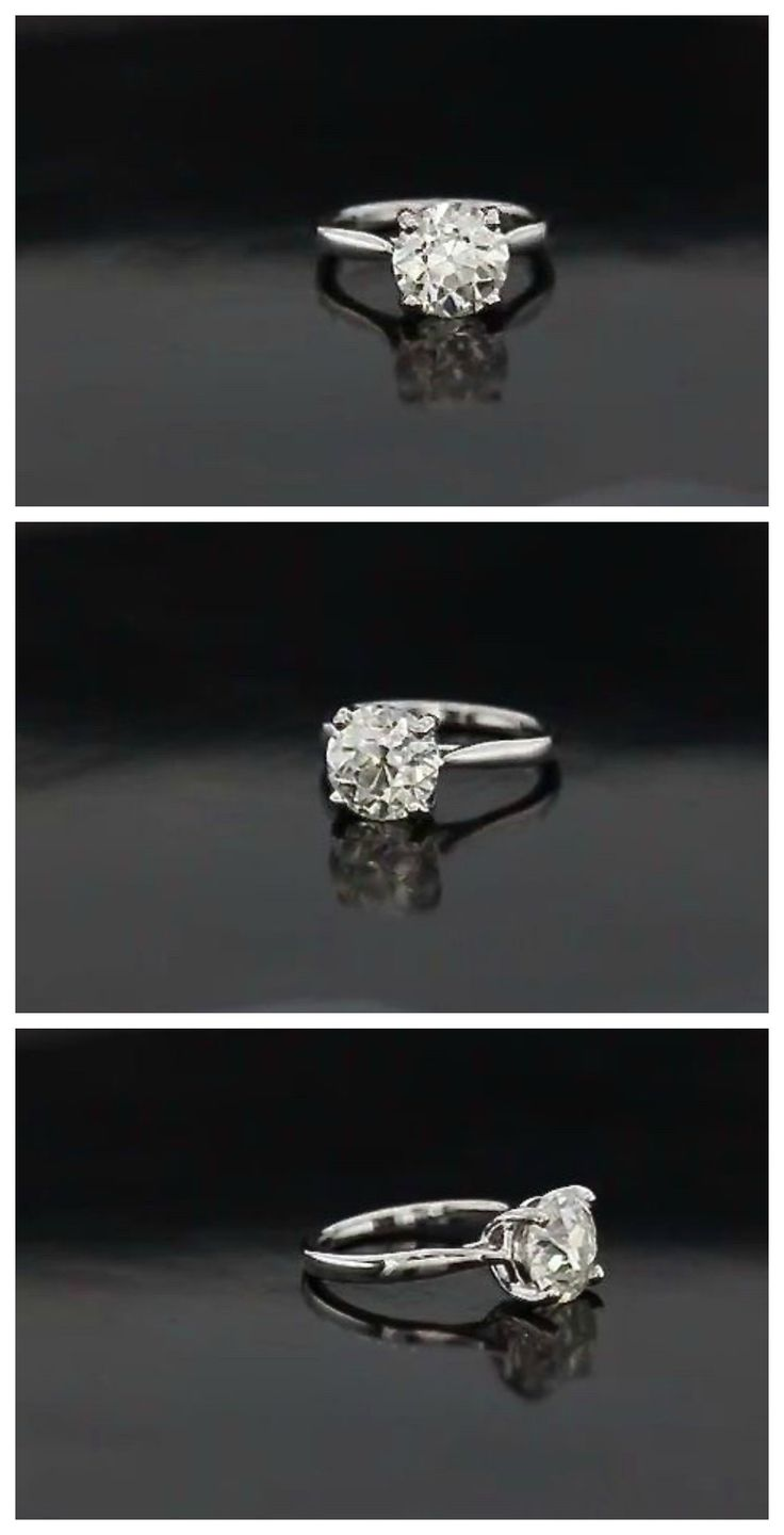 This is a beautiful cathedral style solitaire. It is classically stunning and elegant, and would pair well with almost any wedding band. We can make this for you, with you choice of center stone size and shape, in any metal.