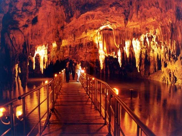 The Cave Springs of Aggiti River near #Kavala #Greece