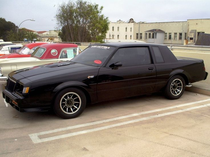 1987 Buick Grand National with Moon Roof images | 1982 to 1987 Buick Regal Grand National GN GNX by ~Partywave on ...