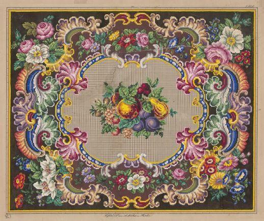 Berlin WoolWork Pattern By Seiffert & Co