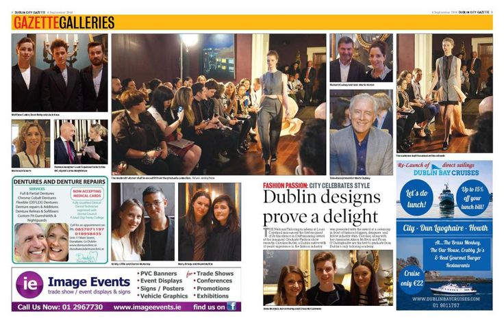 Dublin Gazette features National Tailoring Academy event