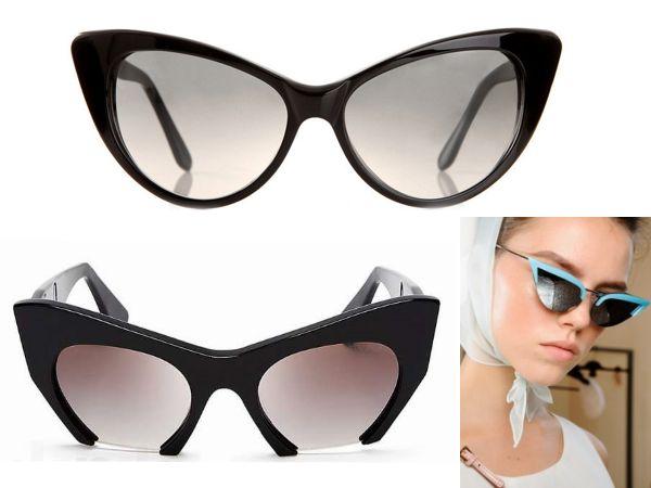 очки- кошачий глаз