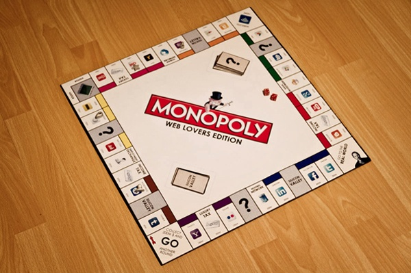 Monopoly Web Lover Edition