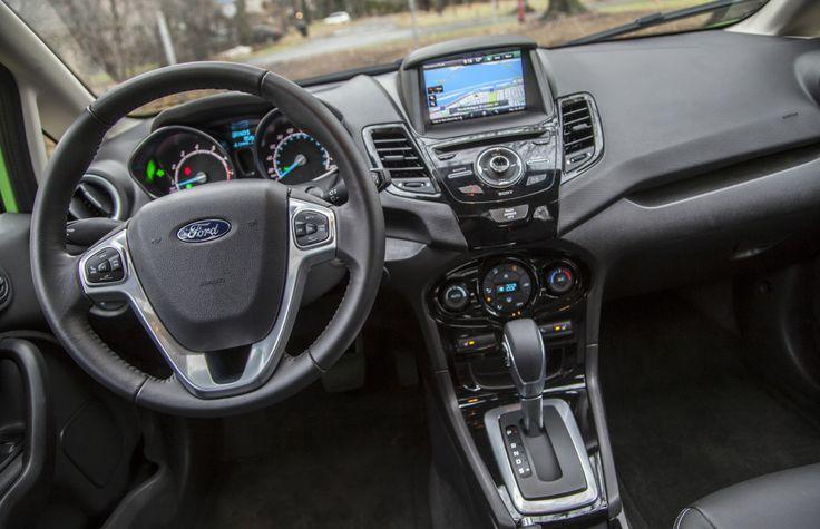 new fiestaware color 2014   2014 Ford Fiesta Titanium interior is fairly intuitive.