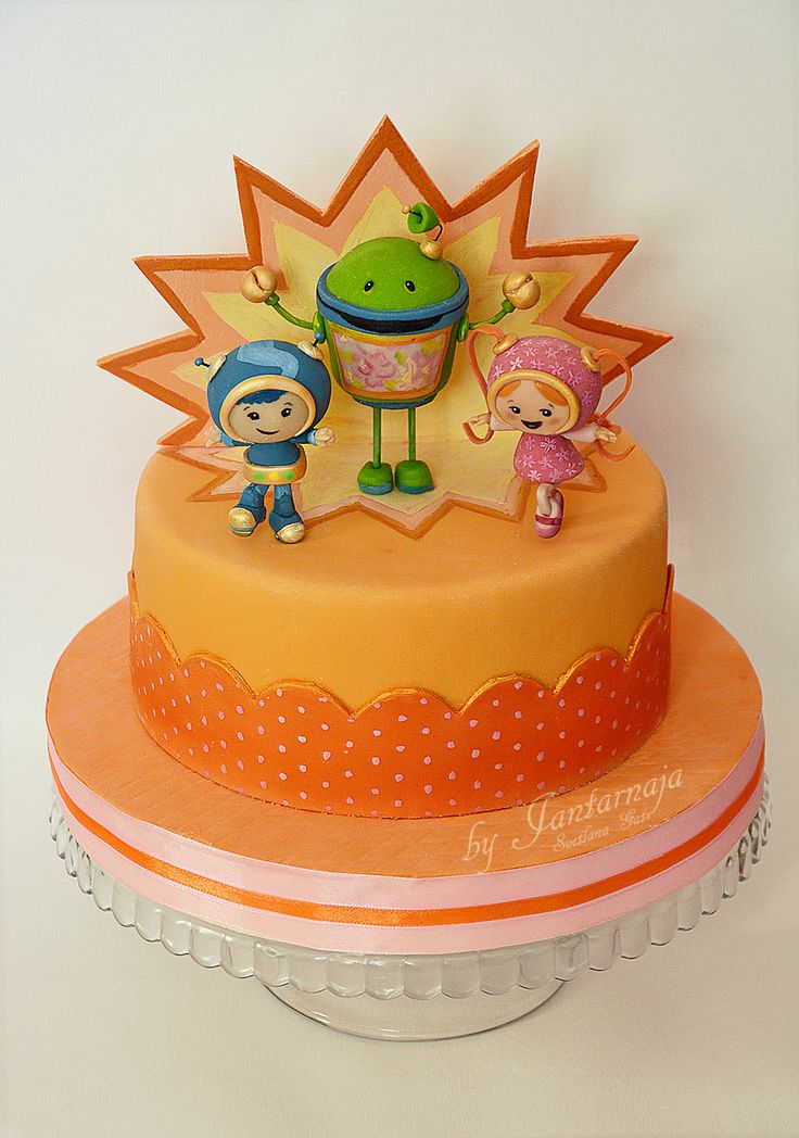 21 Best Images About Team Umi Zoomi Cakes On Pinterest